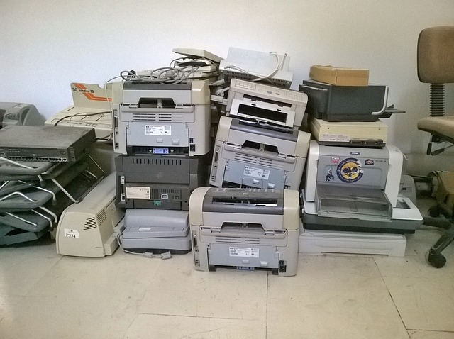 staré tiskárny