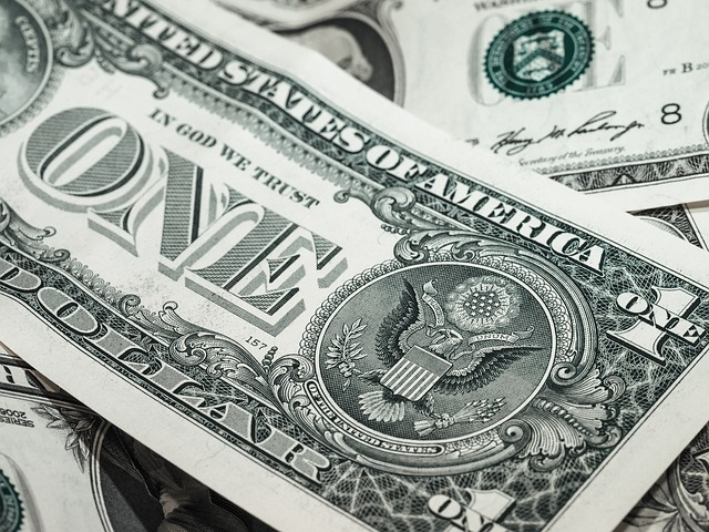 dolarové bankovkky