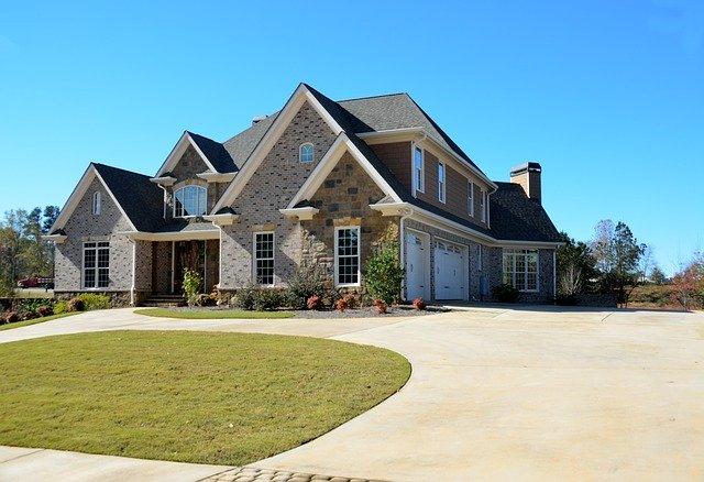 dům koupený za hypotéku